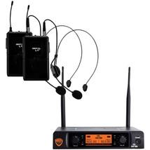 Nady(R) DW-22-HM-ANY Dual-Transmitter Digital Wireless Microphone System... - $187.45