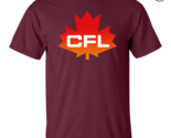 Cfl  logo  canadian  football  league  men s t shirt   maroon thumb155 crop