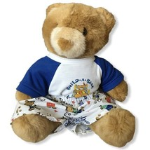 """Vintage 1997 Build-A-Bear Brown Teddy Bear With New With Tags Clothes 10"""" - $18.00"""