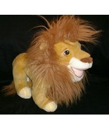 "15"" VINTAGE 1993 SIMBA MATTEL DISNEY LION KING MOVIE STUFFED ANIMAL PLUS... - $27.12"