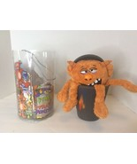Jay At Play Stinky Little Trash Monsters Grimy Orange Plush Stuffed Doll... - $15.04
