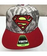 Superman Logo Jeunesse Osfm Réglable Casquette / Chapeau 11/17 Neuf Avec... - $10.18