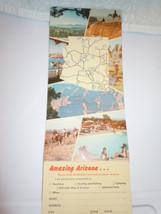 Vintage Welcome to Amazing Arizona Travel Information Brochure  - $5.99