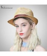 Sedancasesa® New Sun Hat For Women Men Jazz Cap Panama Floppy Hat Fedora... - $49.44