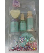 More Than Magic Peppermint Peace Wintry Wash Gift Set Body Wash Mist Bat... - $8.91