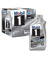 Mobil 1 5W-30 Motor Oil - 1 qt. bottles - 6 pk.(pack of 2) - $111.86