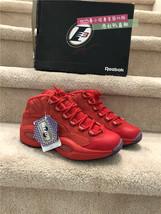 Reebok question mid teyana taylor primal red women's basketball sneaker ... - $125.00