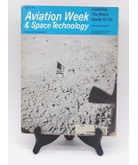 Aviation Week Space Technology Magazine August 1969 Exploring the Moon A... - $24.30