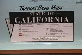 "Vintage 1989 Large Wall Thomas Bros California State Freeway Artery Map 68""x54"" image 5"
