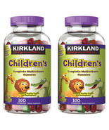 NEW Kirkland Signature Children's Complete Multivitamin, 320 Gummies FRE... - $19.99