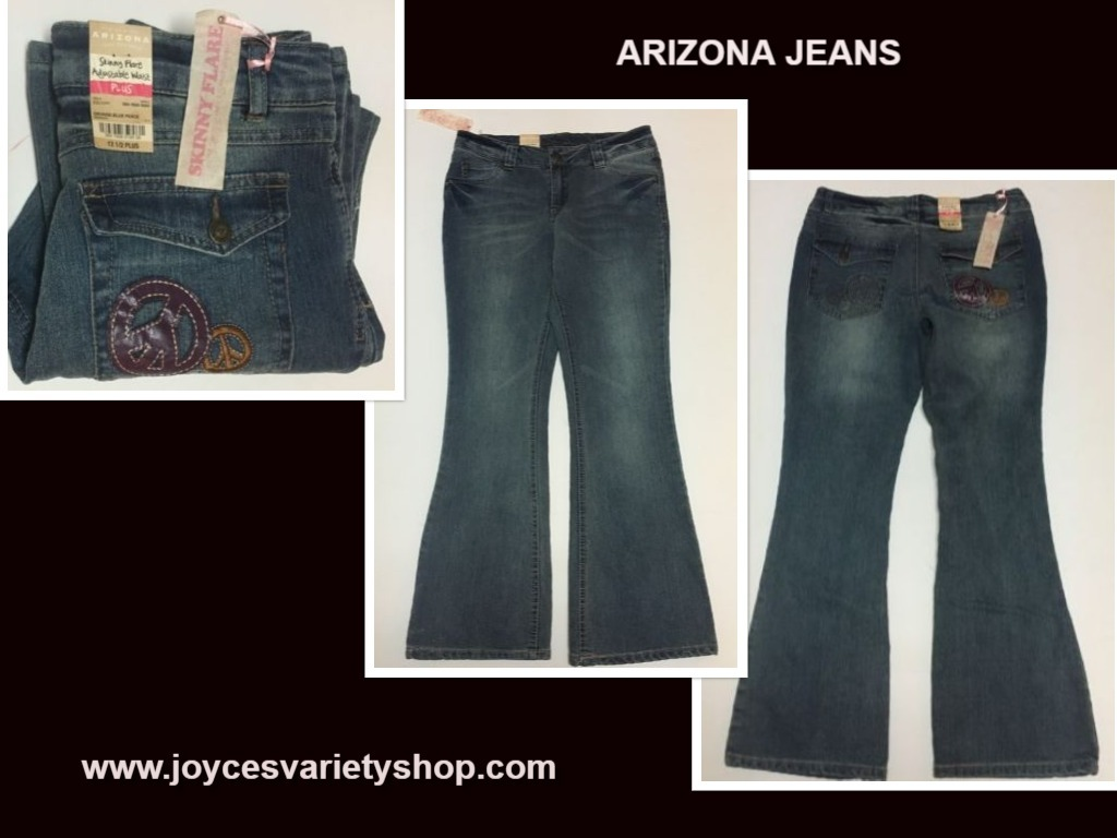 Arizona jeans 12.5 web collage