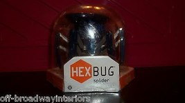HEX BUGS HEX BUG SPIDER BATTERY OPERATED MINI ROBOTIC SPIDER DARK BLUE NEW - $14.01