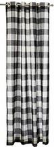 Lorraine Home Fashions 09570-84-00146 BLACK Courtyard Grommet Window Cur... - $29.06
