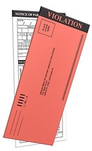 10 Pack FAKE PARKING TICKETS with Multiple selections in the back to fil... - $7.81