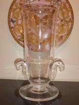 """Steuben Large Crystal Vase 12"""" High - $100.00"""