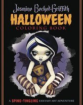 Jasmine Becket-Griffith Halloween Coloring Book: A Spine-Tingling Fantas... - $18.68