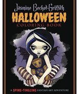 Jasmine Becket-Griffith Halloween Coloring Book: A Spine-Tingling Fantas... - €17,08 EUR