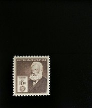 1940 10c Alexander Graham Bell, U.S. Patent for Telephone Scott 893 Mint... - $5.94