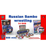 Russian Sambo -14 dvd collection. 888 min. - $29.92