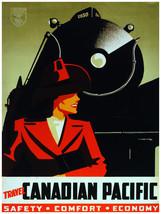 7596.Decoration Poster.Home Room wall art design print.Canadian railroad... - $11.30+