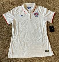 Nike USA US United States Soccer Team Stadium WOMENS JERSEY 580716-105 L... - $56.09