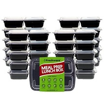 Freshware Meal Prep Containers [21 Pack] 3 Compartment with Lids, Food S... - €28,56 EUR