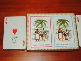 NEW 2 decks Virgin Island Playing Cards by Ferd Piatnik & Sons Souvenir Austria - $22.49
