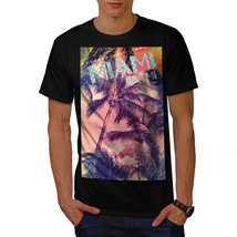 Miami Palm Beach Shirt Surfer Sand Men T-shirt - $12.99+