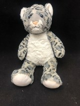 Build a Bear Workshop Snow Leopard Stuffed Animal Plush No Tags - $6.88