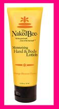 The Naked Bee ORANGE BLOSSOM HONEY Moisturizing Hand & Body Lotion 2.5 o... - $9.78