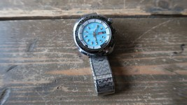 RARE Vintage Swiss 100 Divers Watch Mechanical Movement WORKING!!!! - $197.99