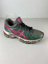 Asics Womens Running Sneakers Shoes 8.5 Multicolor Gel Nimbus 15 Fluid Ride - $40.29 CAD