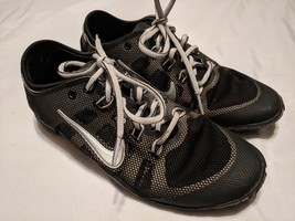 Nike Running Shoes Black White Women's 6.5 Mesh - $18.55