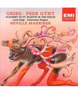 Grieg: Peer Gynt By Sir Neville Marriner (Conductor) (1995-07-01) [Audio... - $39.99