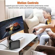 BEBONCOOL Wireless Controller for Nintendo Switch Remote Pro Controller Orange A image 3