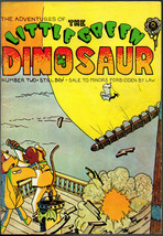 Little Green Dinosaur #2, Last Gasp, 1973  vintage Underground Comix. - $7.98