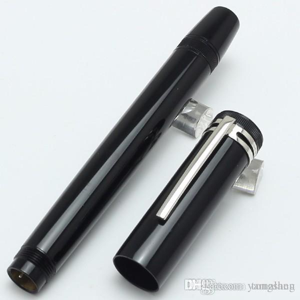 luxury MT Heritage Collection 1912 Piston black Fountian pen With retractable ni