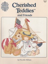 Cherished Teddies and Friends, Gloria & Pat Teddy Cross Stitch Pattern B... - $6.95