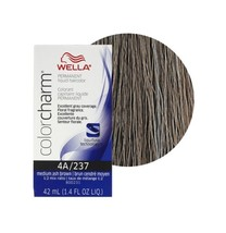 Wella Color Charm Permanent Liquid Haircolor Medium Ash Brown 4A/237 - $14.95+