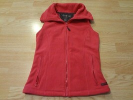 Women's Calvin Klein S Pink Fleece Vest Jacket - $23.36