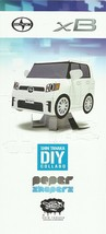 2013 Scion xB Shin Tanaka DIY PAPER SHAPERS brochure catalog US Toyota - $9.00
