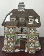 Dept 56 Sir John Falstaff Inn Dickens Christmas Village Mint With Origin... - $18.70