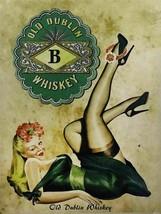 Old Dublin Irish Whiskey Metal Sign - $29.95