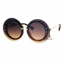 PASTL Womens Sunglasses Round Circle Oversized Lens Over Frame UV 400 - $12.95