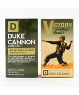 "DUKE CANNON ""BIG ASS BRICK OF SOAP"" Smells Like Victory GREEN BAR 10 oz. - $13.96"