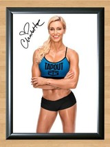 Charlotte Ashley Fliehr WWE Signed Autographed A4 Print Poster Photo diva wwf 3 - $9.95
