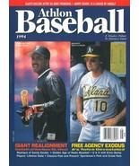 Barry Bonds unsigned San Francisco Giants Athlon Sports 1994 MLB Basebal... - $10.00