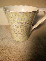 222 FIFTH  COFFEE MUG / CUP  LYRIA  TEAL-- -FREE SHIP--VGC - $17.28