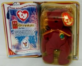 "McDonald's Introduced 1/1/99 TY Beanie Baby ""Millenium"" The Bear {3202} - $7.72"