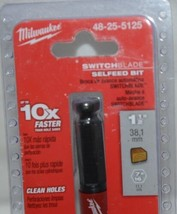 Milwaukee 48255125 Switchblade Selfeed Bit 1 One Half Inch Bit image 2